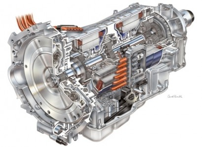 Двигатель: вид изнутри