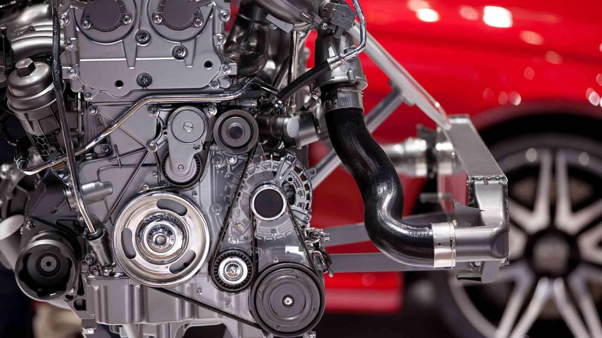 двигатель и ГРМ на автомобиле