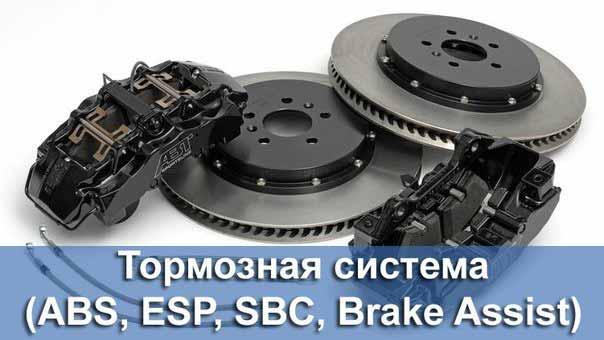 набор тормозной системы ABS