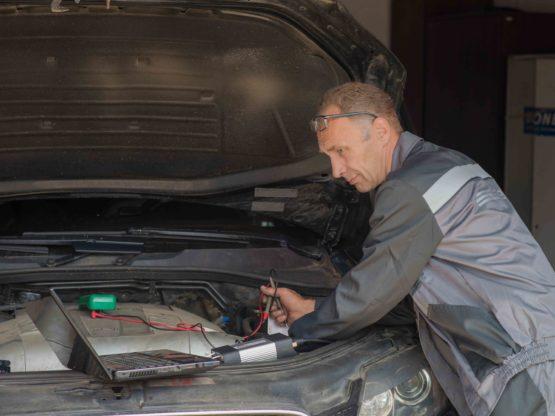 Диагностика автомобиля на СТО