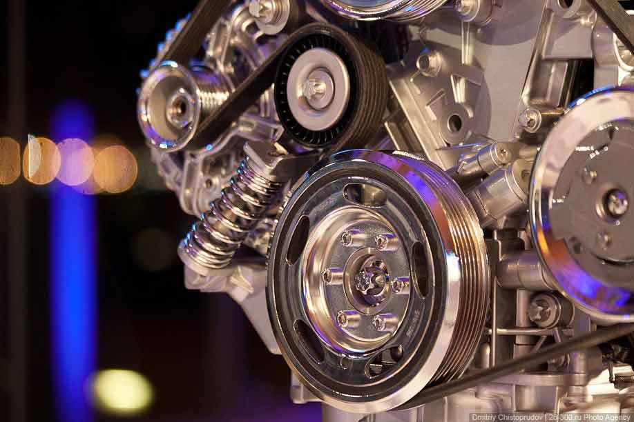 ременная передача двигателя