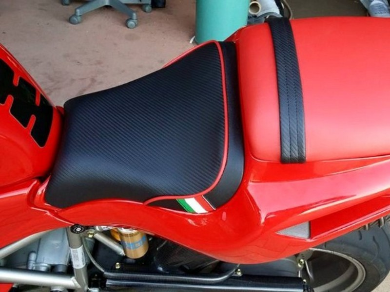 Обтянуть сиденье мотоцикла своими руками 87