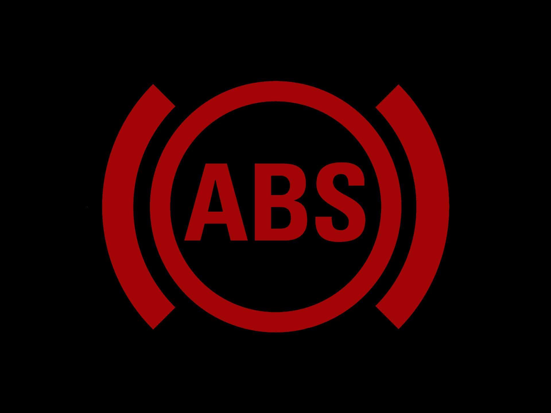 красный значок ABS