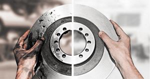 проточка тормозных дисков