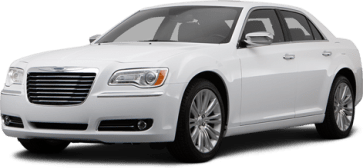 Chrysler 300C белый