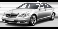 Mercedes-Benz W221 L белый