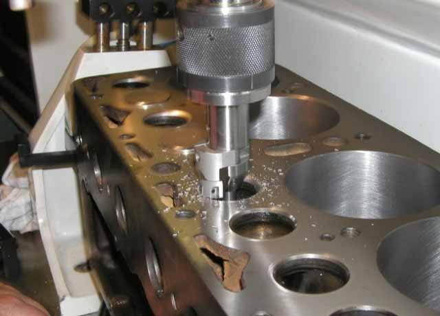 шлифовка блока головок двигателя