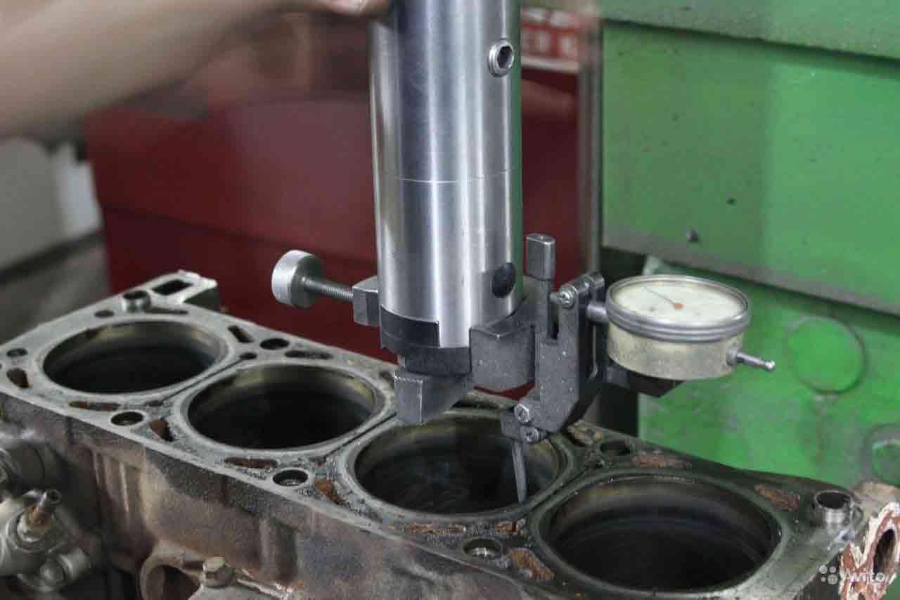 ремонт блока головок двигателя