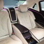 Задние сидения Maybach w222