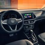 VW polo 2021 интерьер cалон проката